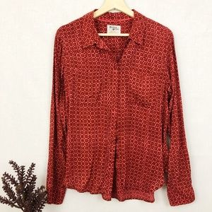 Anthro. Holding Horses button up blouse 6
